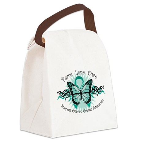 OC-Tribal-Butterfly-wht.png Canvas Lunch Bag