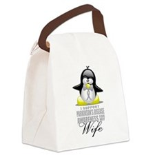Paekinsons-Penguin-for-Wife.png Canvas Lunch Bag