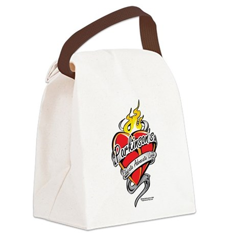 Parkinsons-Tattoo-Heart-2.png Canvas Lunch Bag