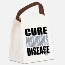 2-Cure-Parkinsons-Cancer.png Canvas Lunch Bag
