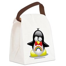 Rainbow-Penguin.png Canvas Lunch Bag