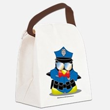 Police-Penguin.png Canvas Lunch Bag