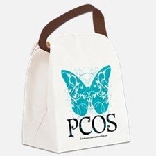 PCOS-Butterfly.png Canvas Lunch Bag