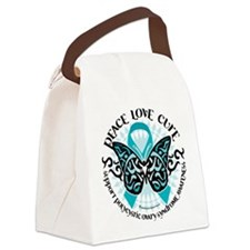PCOS-Butterfly-Tribal-2.png Canvas Lunch Bag