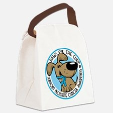 Paws for the Cure: Prostate C Canvas Lunch Bag