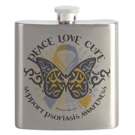 Psoriasis-Butterfly-Tribal-2.png Flask