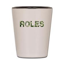 Roles, Vintage Camo, Shot Glass