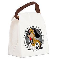 Skin-Cancer-Dog.png Canvas Lunch Bag