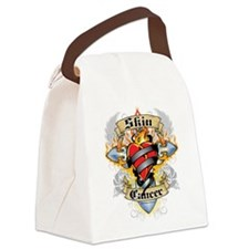 Skin-Cancer-Cross--Heart.png Canvas Lunch Bag