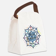 Skin-Cancer-Lotus.png Canvas Lunch Bag