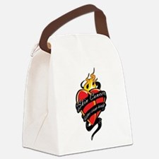 Skin-Cancer-Tattoo-Heart.png Canvas Lunch Bag