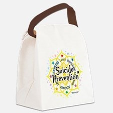 Suicide-Prevention-Lotus.png Canvas Lunch Bag