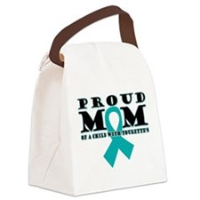 Tourette's Proud Mom Canvas Lunch Bag