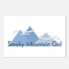 Smoky Mountain Girl Postcards (Package of 8)