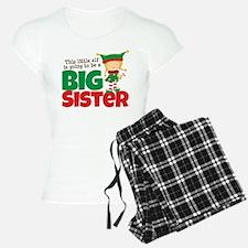 Elf going to be a Big Sister Pajamas