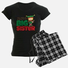 Elf going to be a Big Sister Pajamas