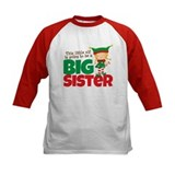 Big sister to be Baseball Jersey