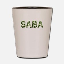 Saba, Vintage Camo, Shot Glass