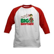 Elf Big Brother To Be Tee