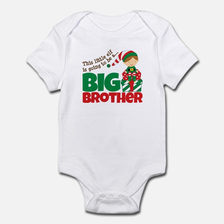 Elf Big Brother To Be Infant Bodysuit