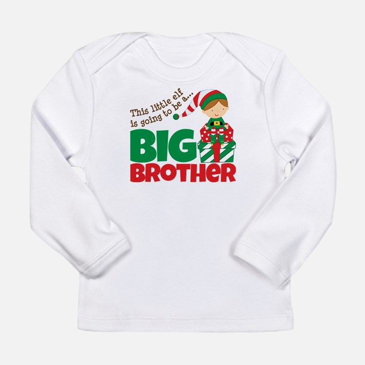 Elf Big Brother To Be Long Sleeve Infant T-Shirt