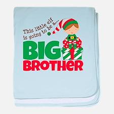 Elf Big Brother To Be baby blanket