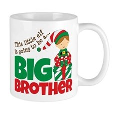 Elf Big Brother To Be Mug