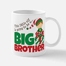 Elf Big Brother To Be Mug