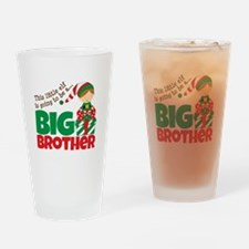 Elf Big Brother To Be Drinking Glass