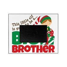 Elf Big Brother To Be Picture Frame