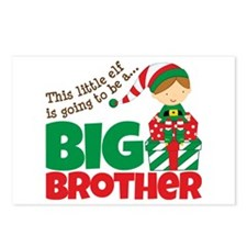 Elf Big Brother To Be Postcards (Package of 8)
