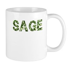 Sage, Vintage Camo, Mug