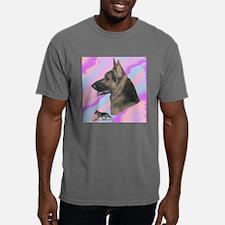 German Shepherd with gai Mens Comfort Colors Shirt
