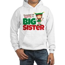 Elf Big Sister To Be Hoodie