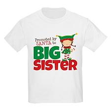 Elf Big Sister To Be T-Shirt