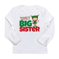 Elf Big Sister To Be Long Sleeve Infant T-Shirt