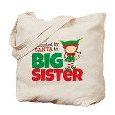 Elf Big Sister To Be Tote Bag