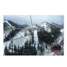 Mountain Gondola Ride Postcards (Package of 8)
