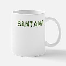 Santana, Vintage Camo, Small Small Mug