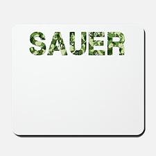 Sauer, Vintage Camo, Mousepad