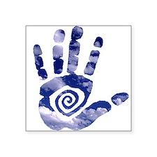 Cloud Hand Sticker