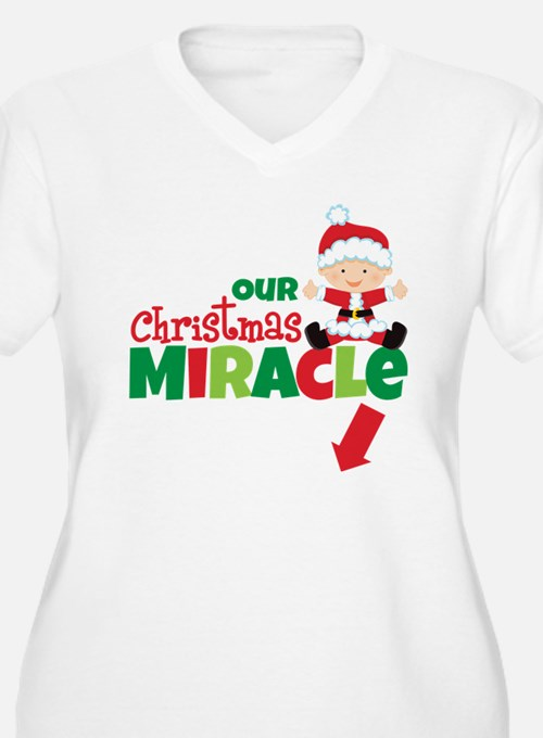Our Christmas Miracle Pregnancy Announcement Women