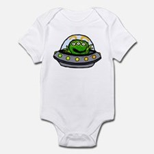 funny alien Infant Bodysuit