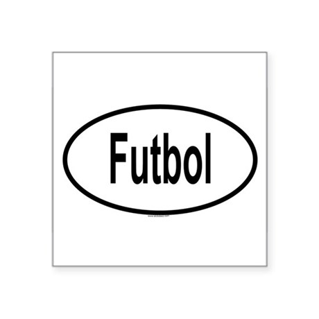 FUTBOL Oval Sticker
