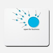 ready for business Mousepad