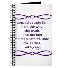 Bible Verse John 14 6 Journal