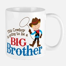 Cowboy Big Brother To Be Mug