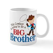 Cowboy Big Brother To Be Mug