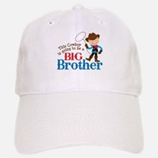 Cowboy Big Brother To Be Baseball Baseball Cap