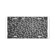 Unique Leopard print Aluminum License Plate